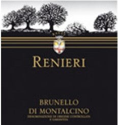 2013 RENIERI BRUNELLO DI MONTALCINO 750ML