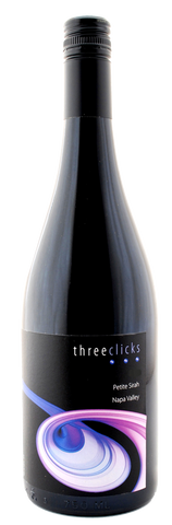 2013 THREE CLICKS PETITE SIRAH 750ML
