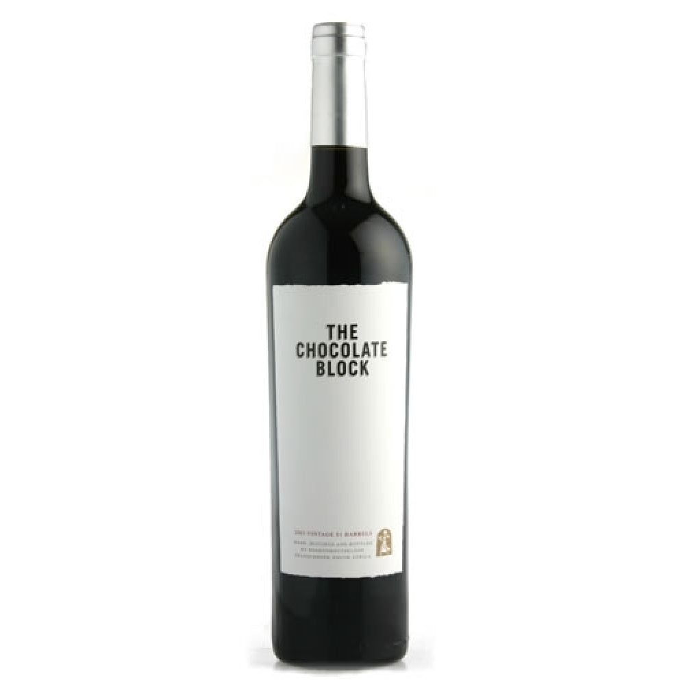 2016 BOEKENHOUTSKLOOF THE CHOCOLATE BLOCK RED 750ML