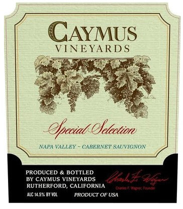 2015 CAYMUS CABERNET SPECIAL SELECTION 750ML