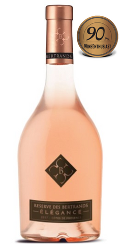 2018 CHATEAU DES BERTRANDS ESTATE ROSE 750ML