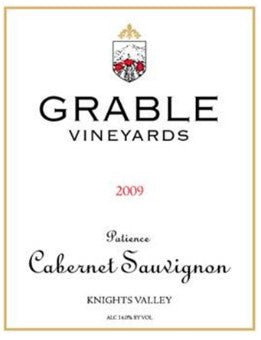 2009 GRABLE VINEYARDS PATIENCE CABERNET SAUVIGNON 750ML