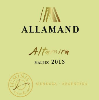 2013 ALLAMAND ALTAMIRA MALBEC 750ML