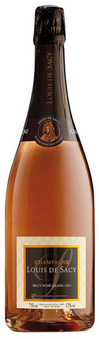 LOUIS DE SACY GRAND CRU ROSE BRUT CHAMPAGNE 375ML
