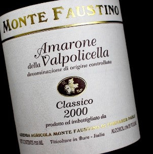 2000 MONTE FAUSTINO AMARONE 750ML