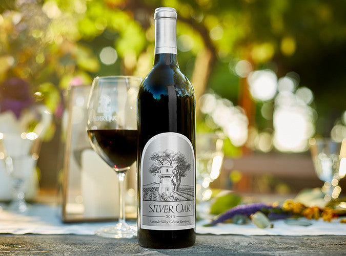 2015 SILVER OAK CABERNET SAUVIGNON ALEXANDER VALLEY 750ML