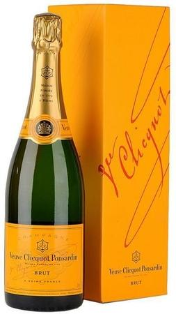 VEUVE CLICQUOT PONSARDIN YELLOW LABEL BRUT CHAMPAGNE BLEND 750ML