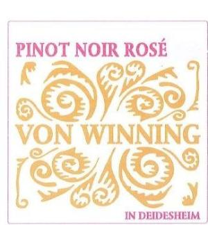 2018 VON WINNING PINOT NOIR ROSE 750ML