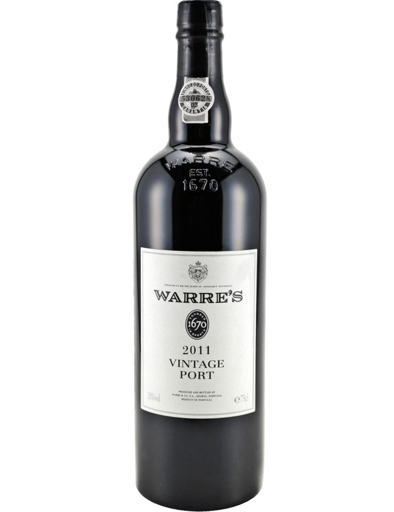 2011 WARRE'S PORT VINTAGE 750ML