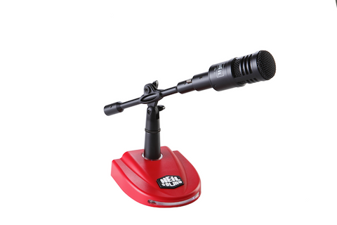 PR10 mic and Red Base