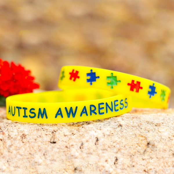 Autism Awareness Wristband - Autism Awareness Merchandise
