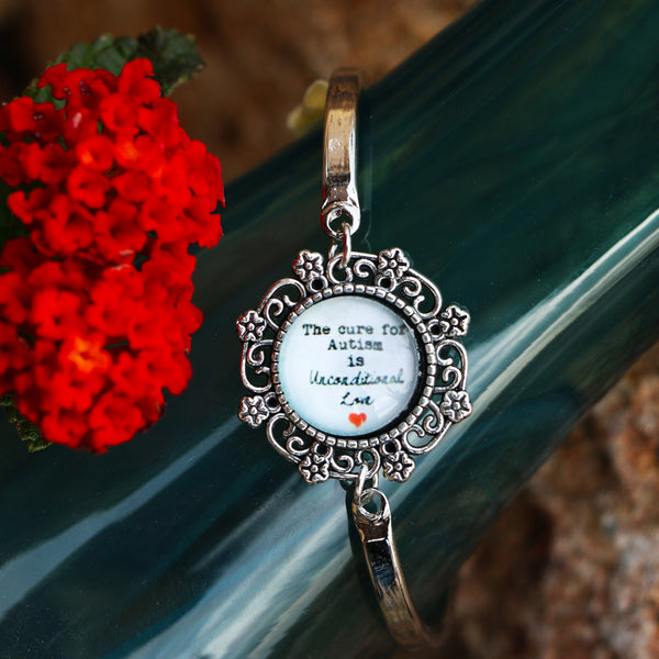 FREE Autism Unconditional Love Bracelet - Autism Awareness Merchandise
