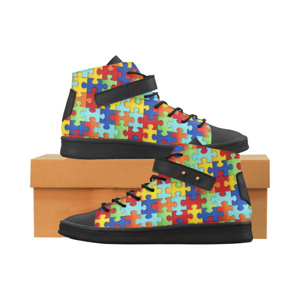 Men Puzzle Piece Shoes