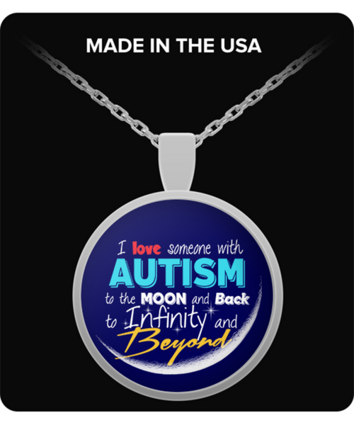 From the Moon Necklace - Autism Awareness Merchandise