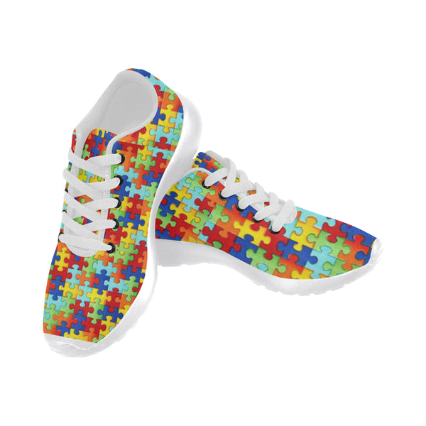 Women's Autism Puzzle Shoes