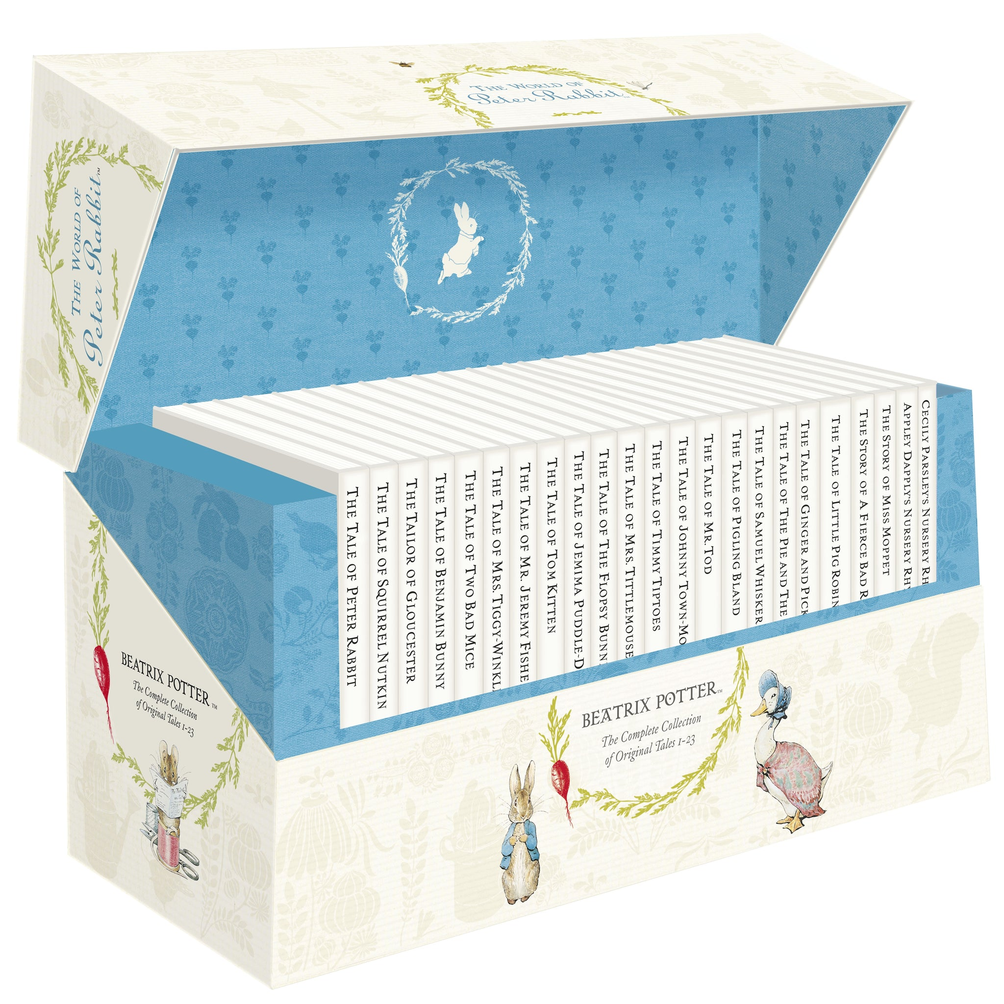 Beatrix Potter Complete Collection Gift Box
