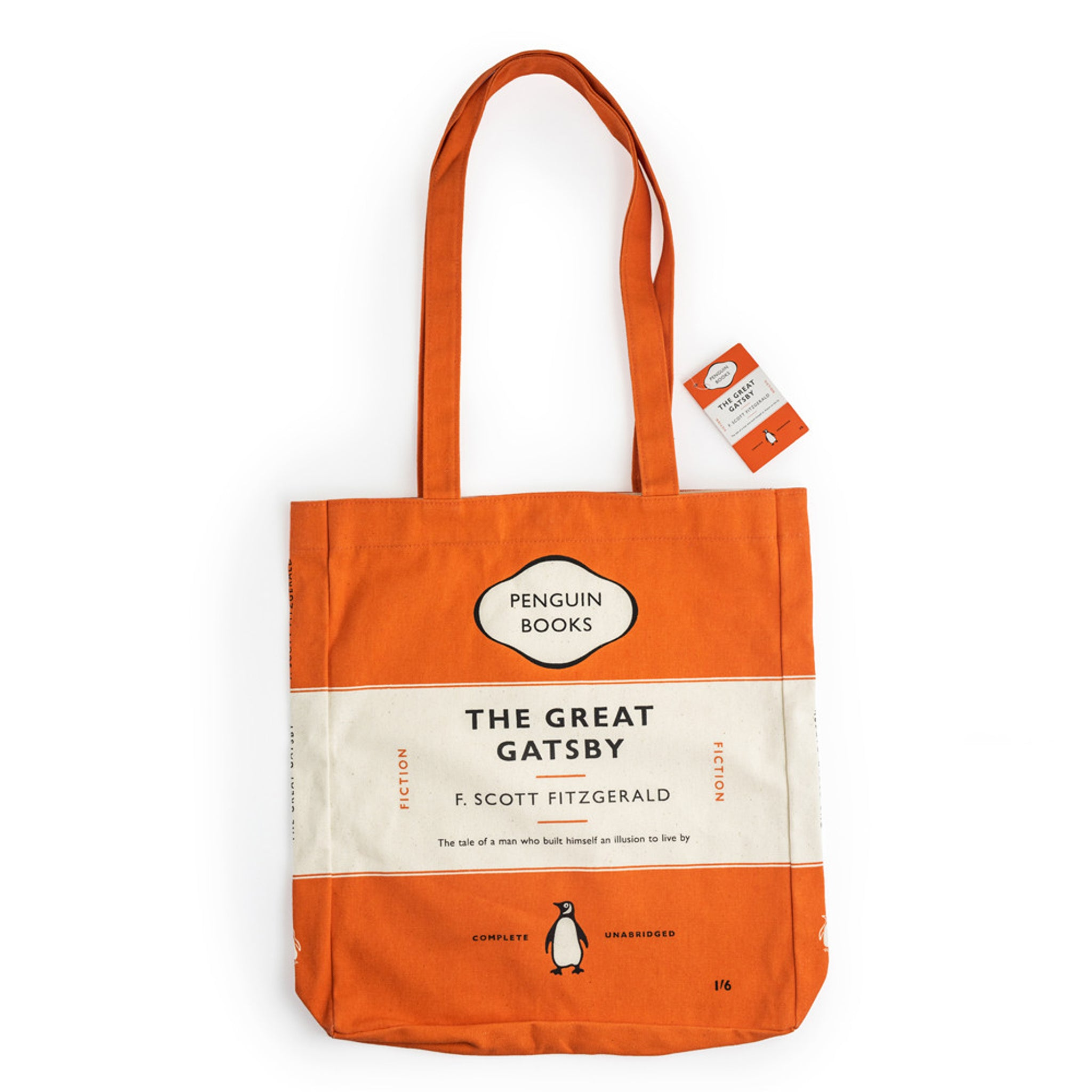 Penguin Book Cover Tea Towels ~ The great gatsby penguin tote bag shop
