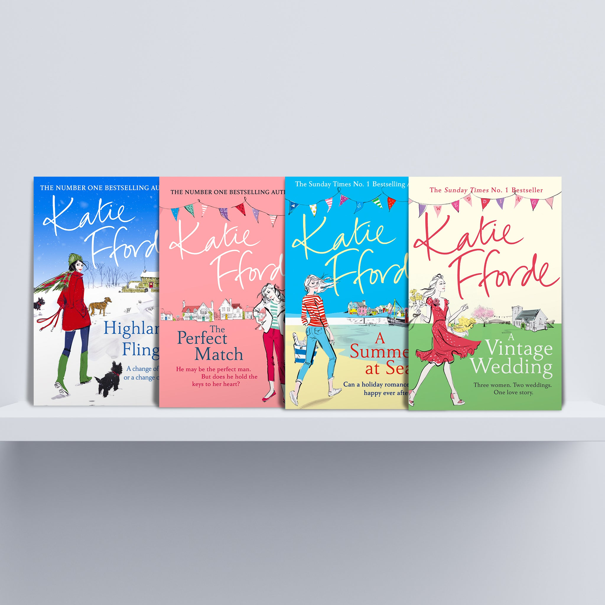 Katie Fforde book bundle