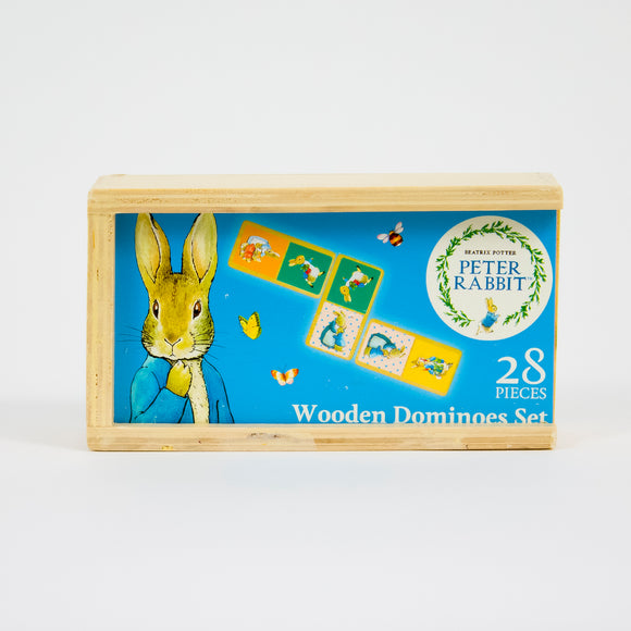 Peter Rabbit Wooden Domino Set