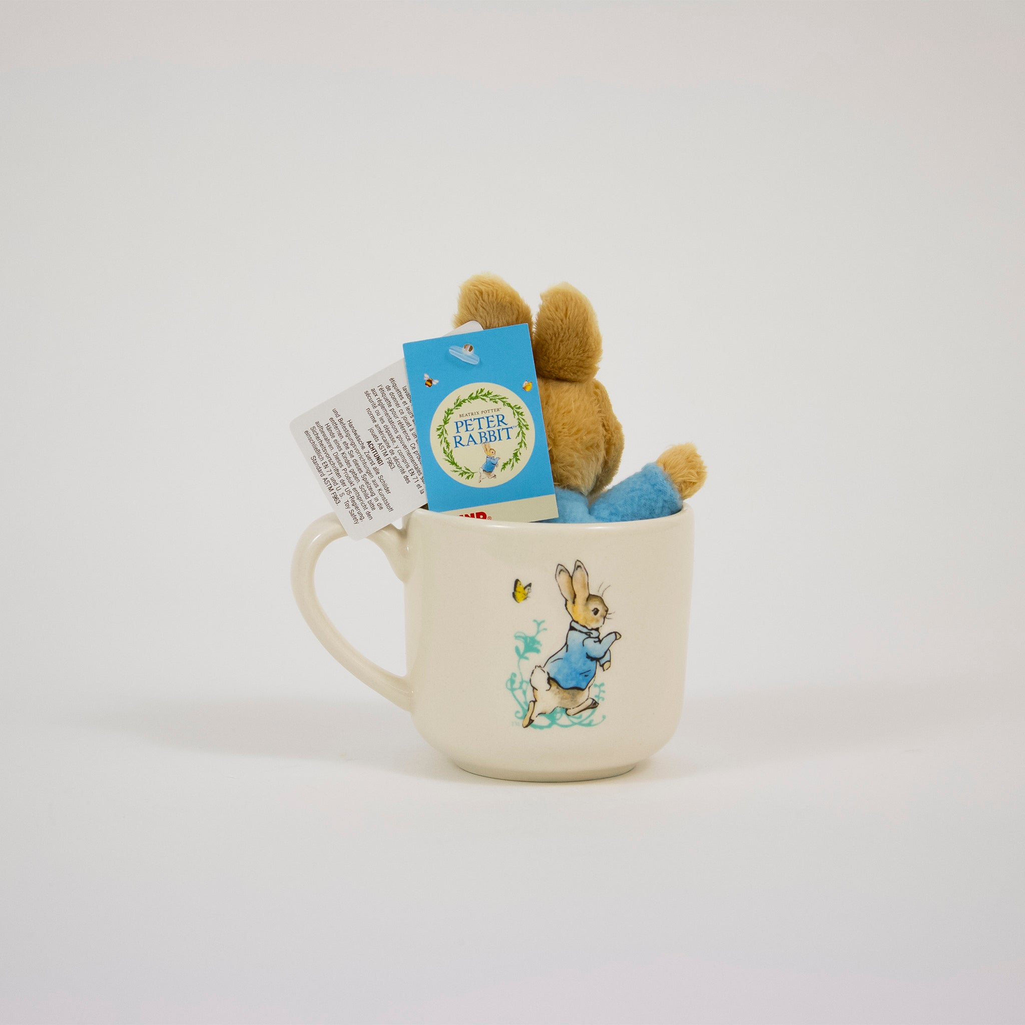 Peter Rabbit Mug & Toy Set
