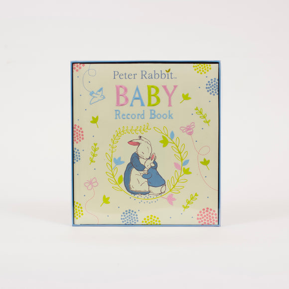 Peter Rabbit - Baby Record Book