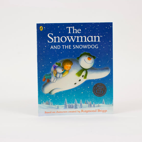 The Snowman and The Snowdog Book and Audio CD