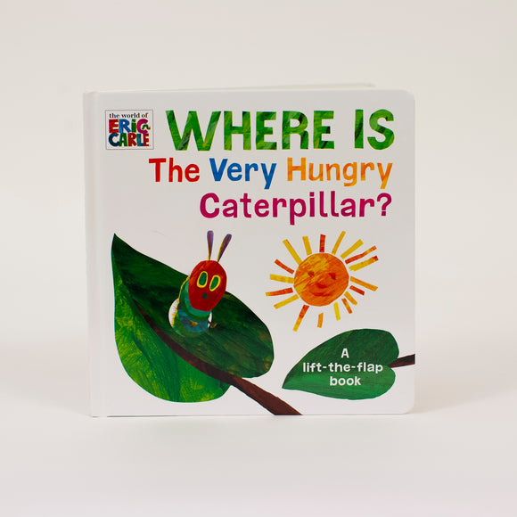 The Very Hungry Caterpillar Lift The Flap Boardbook