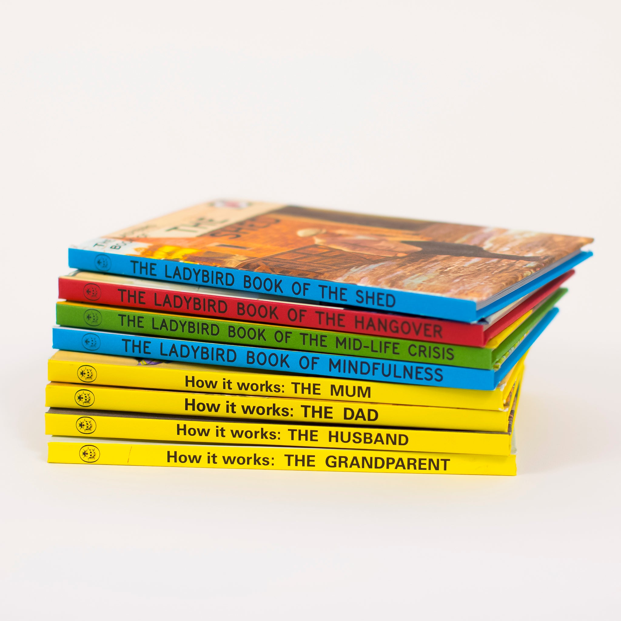Pick and Mix Deal - Ladybird Books for Grown Ups