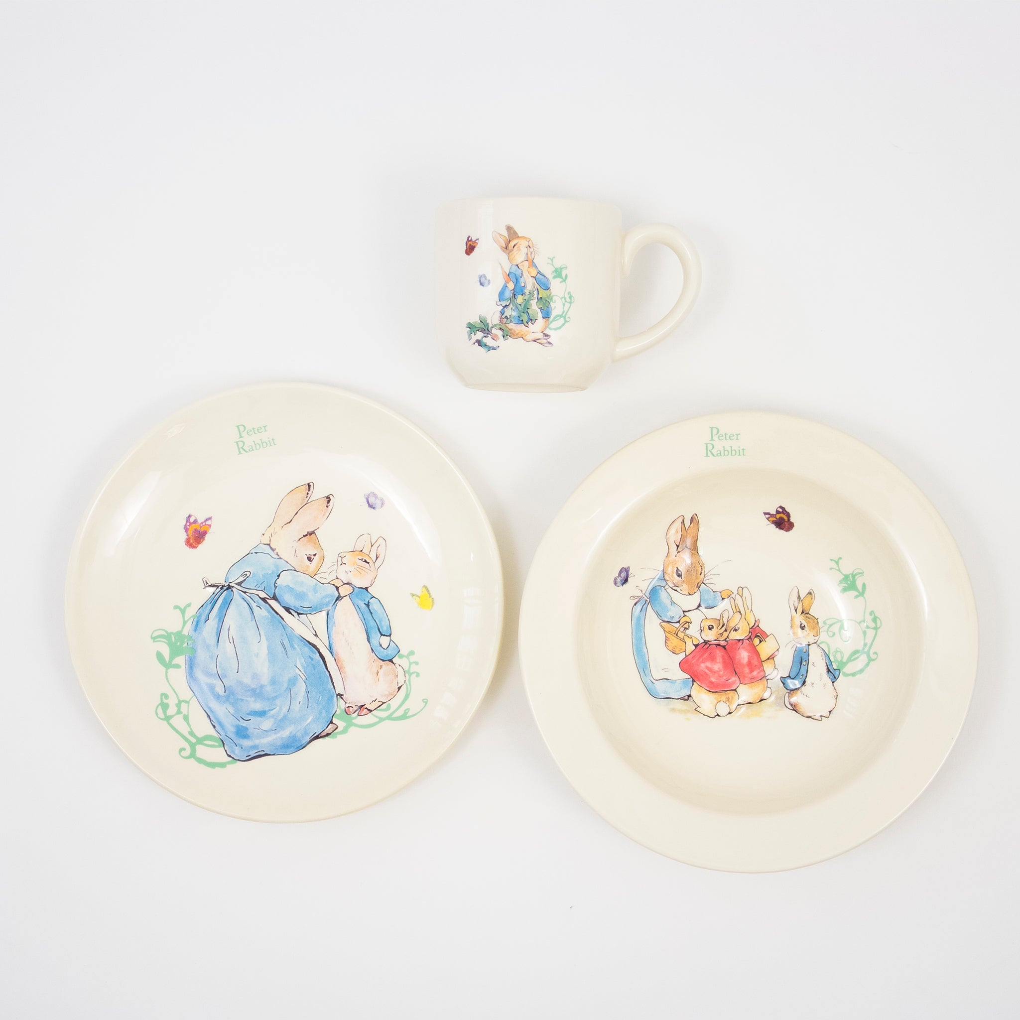 Peter Rabbit Three Piece Nursery Set