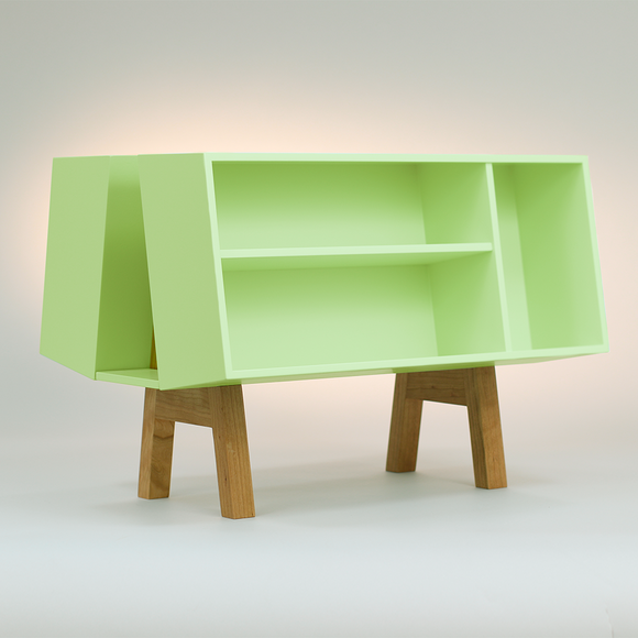 Isokon Penguin Donkey Mark 2: Sung Green