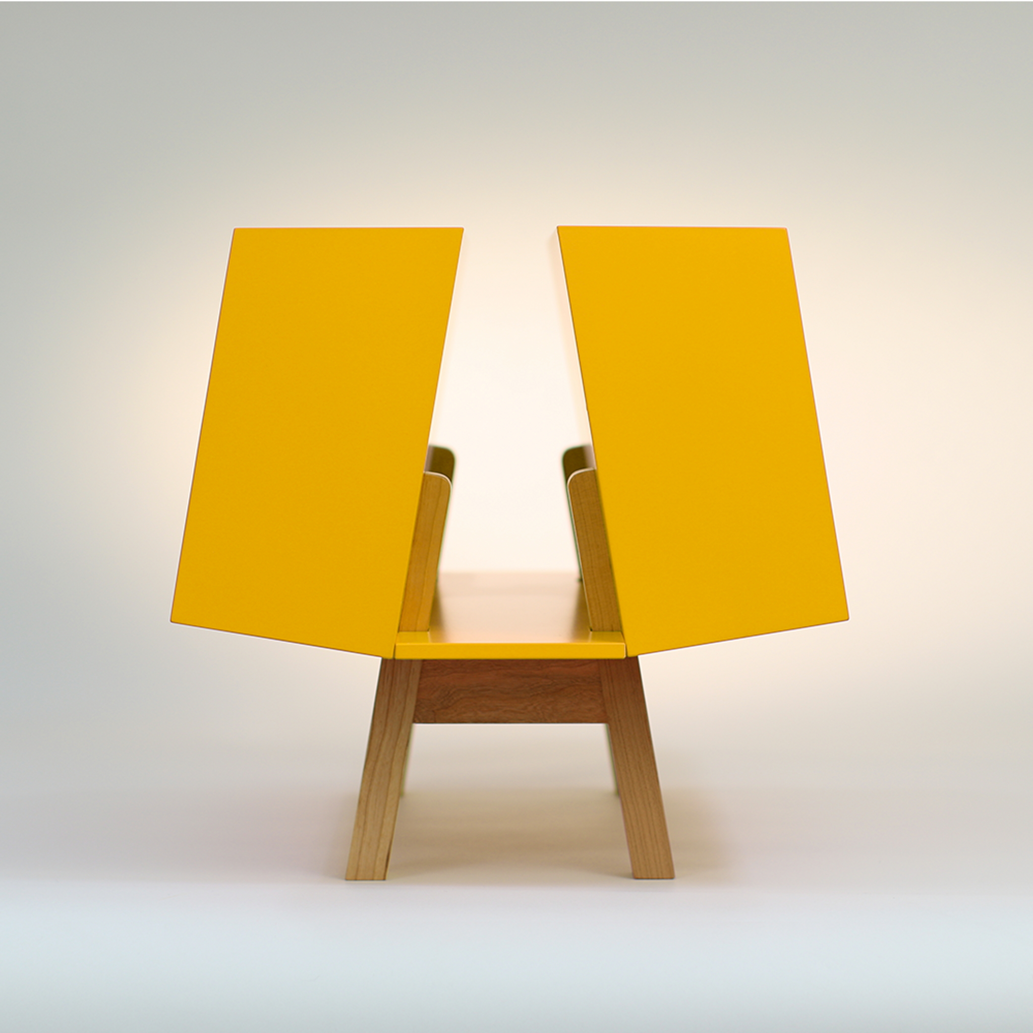 Isokon Penguin Donkey Mark 2: Yellow