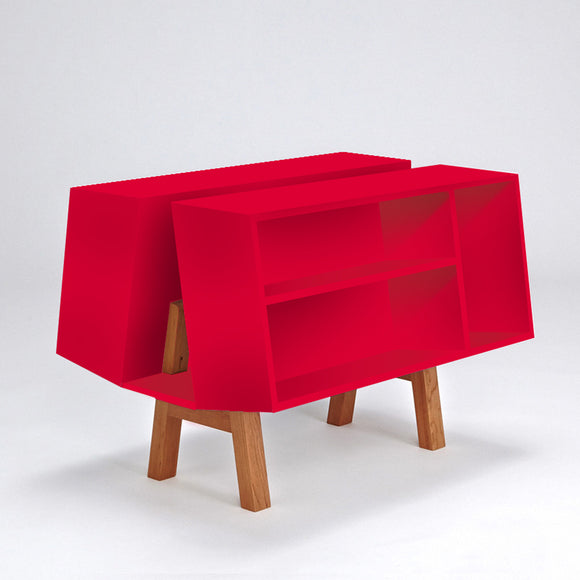 Isokon Penguin Donkey Mark 2: Red