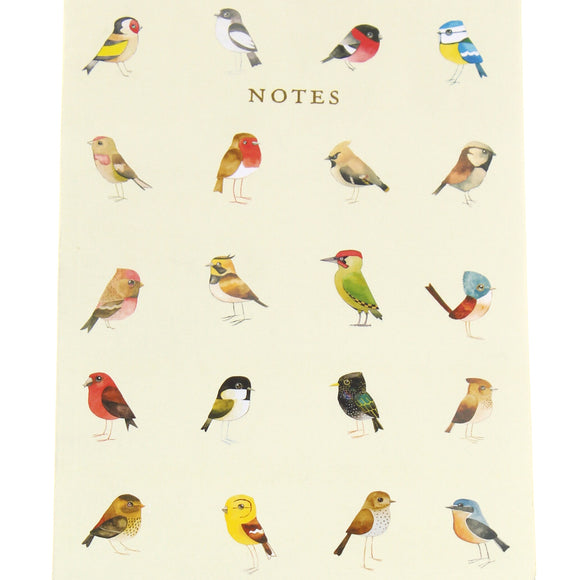 Matt Sewell's Birds A5 Notebook - Songbirds