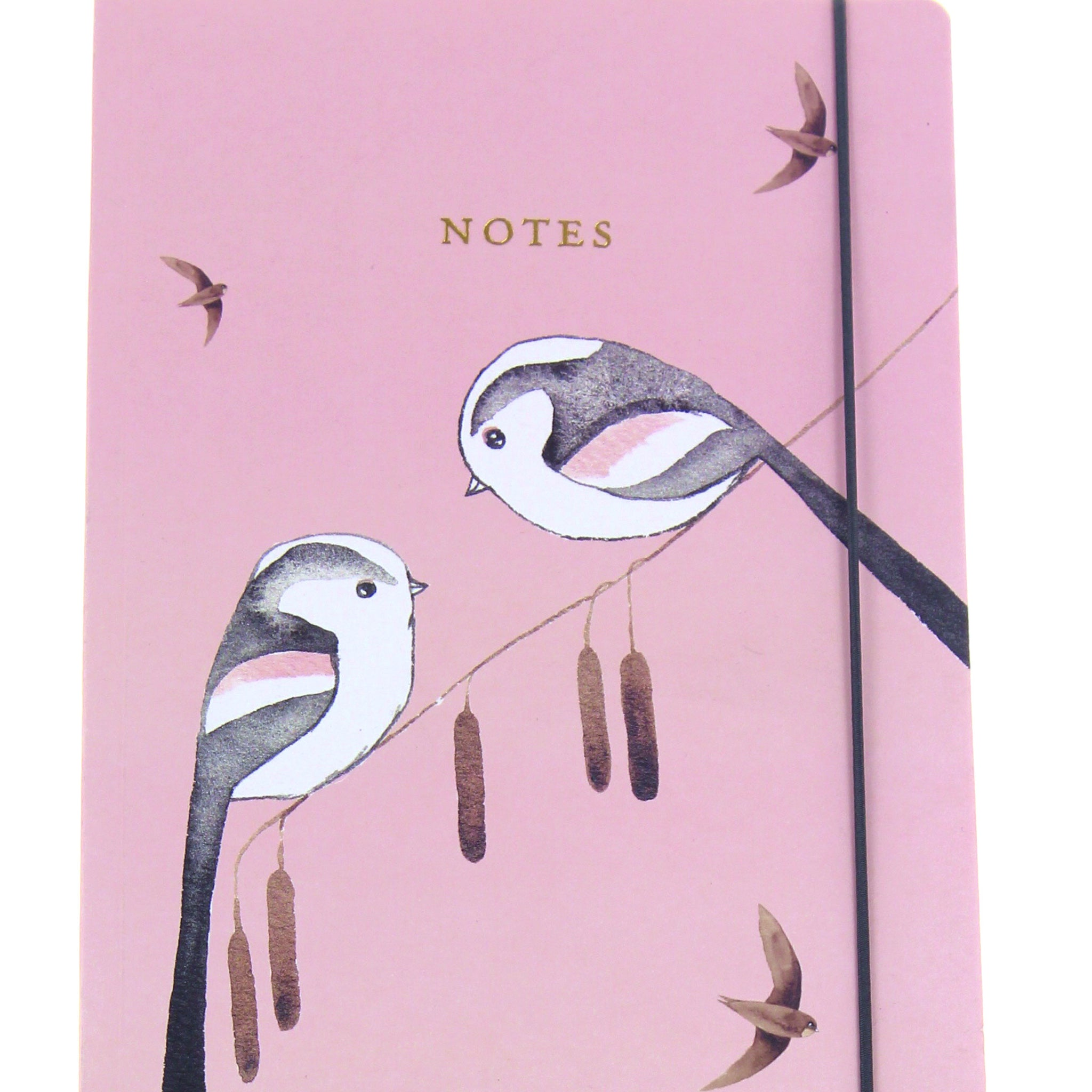 Matt Sewell's Birds A5 Notebook – Long-Tailed Tits