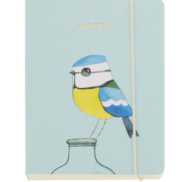 Matt Sewell's Birds A6 Notebook – Blue Tit