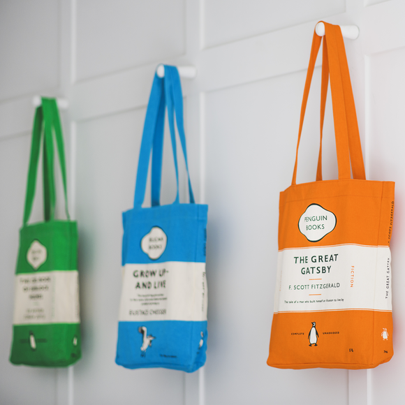 e70fd91a155 Penguin Books Tote Bags | Buy Online at the Penguin Shop