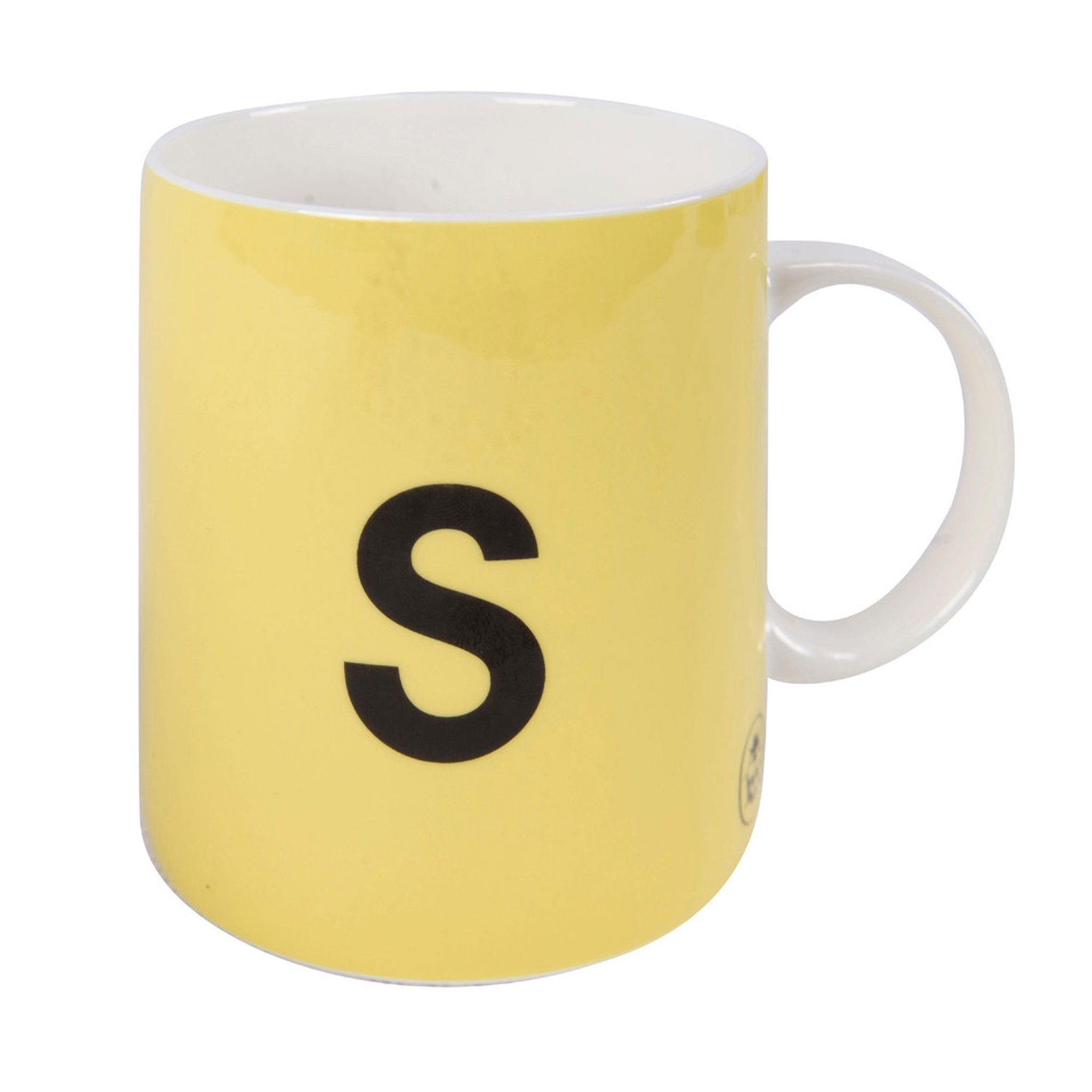 Vintage Ladybird Mug = S is for Spoon
