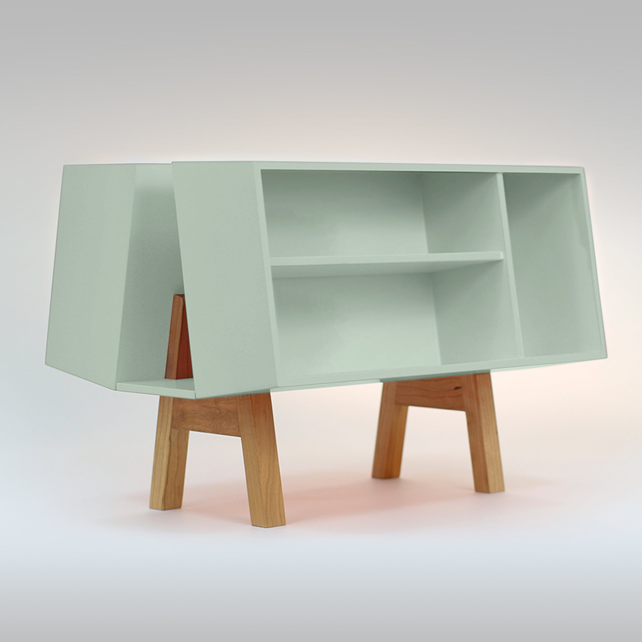 Isokon Penguin Donkey Mark 2: Dusty Green