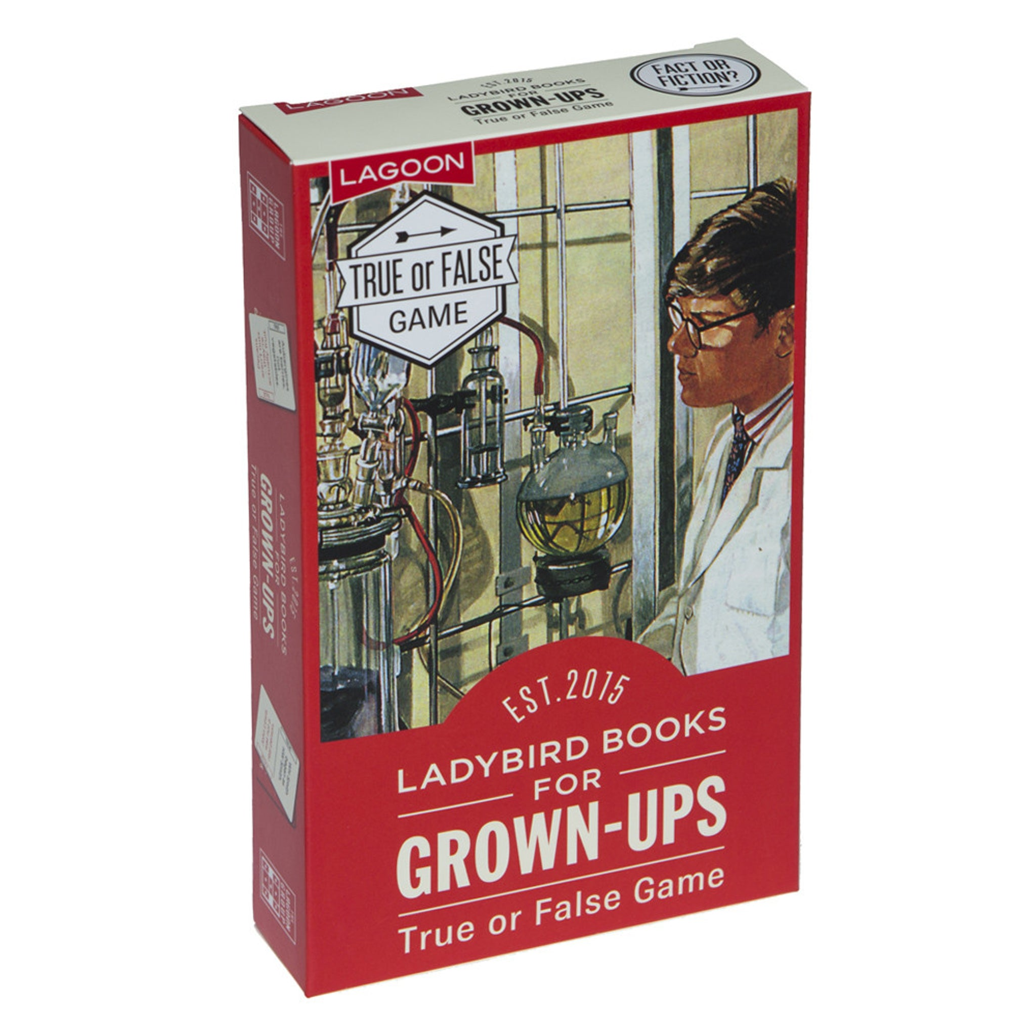 Ladybird Books for Grown-Ups – True or False Game
