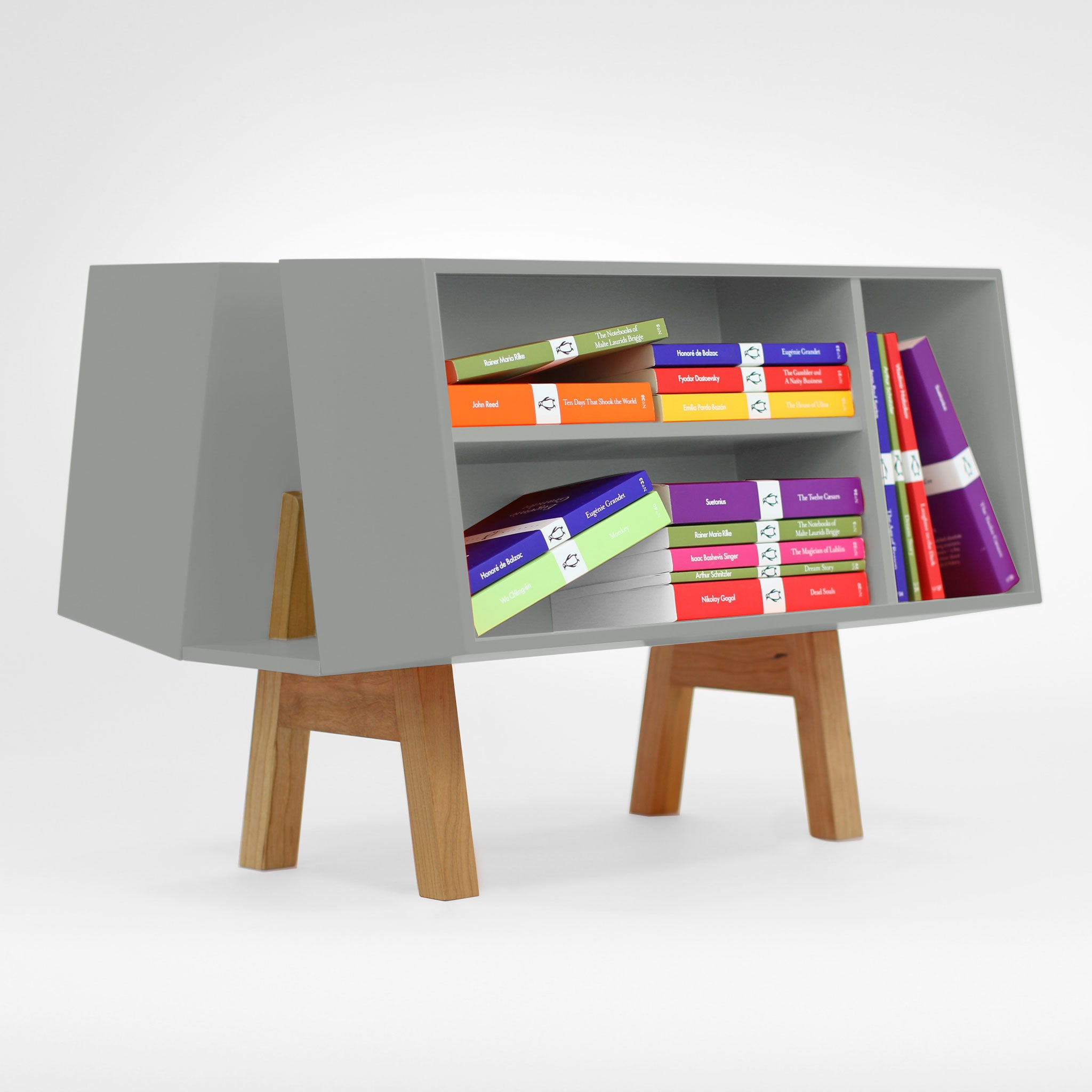 Isokon Penguin Donkey Mark 2: Cool Gray