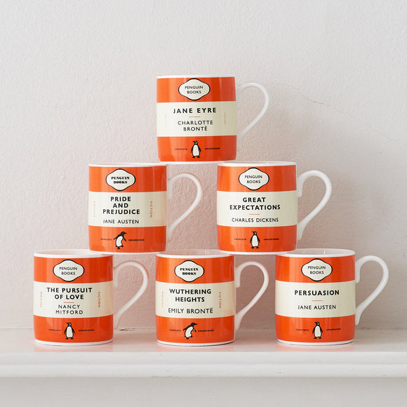 Penguin Orange Mug Collection