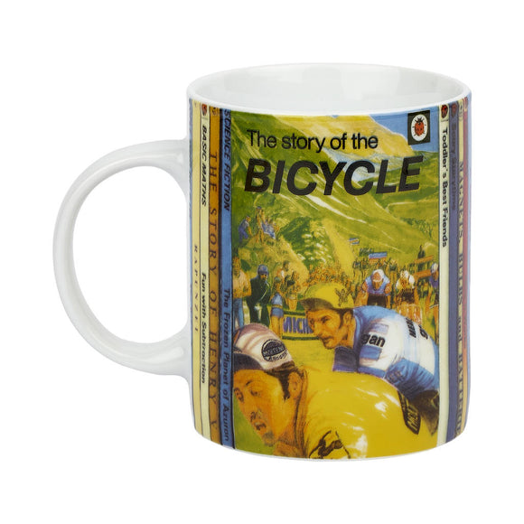 Vintage Ladybird Bicycle Mug