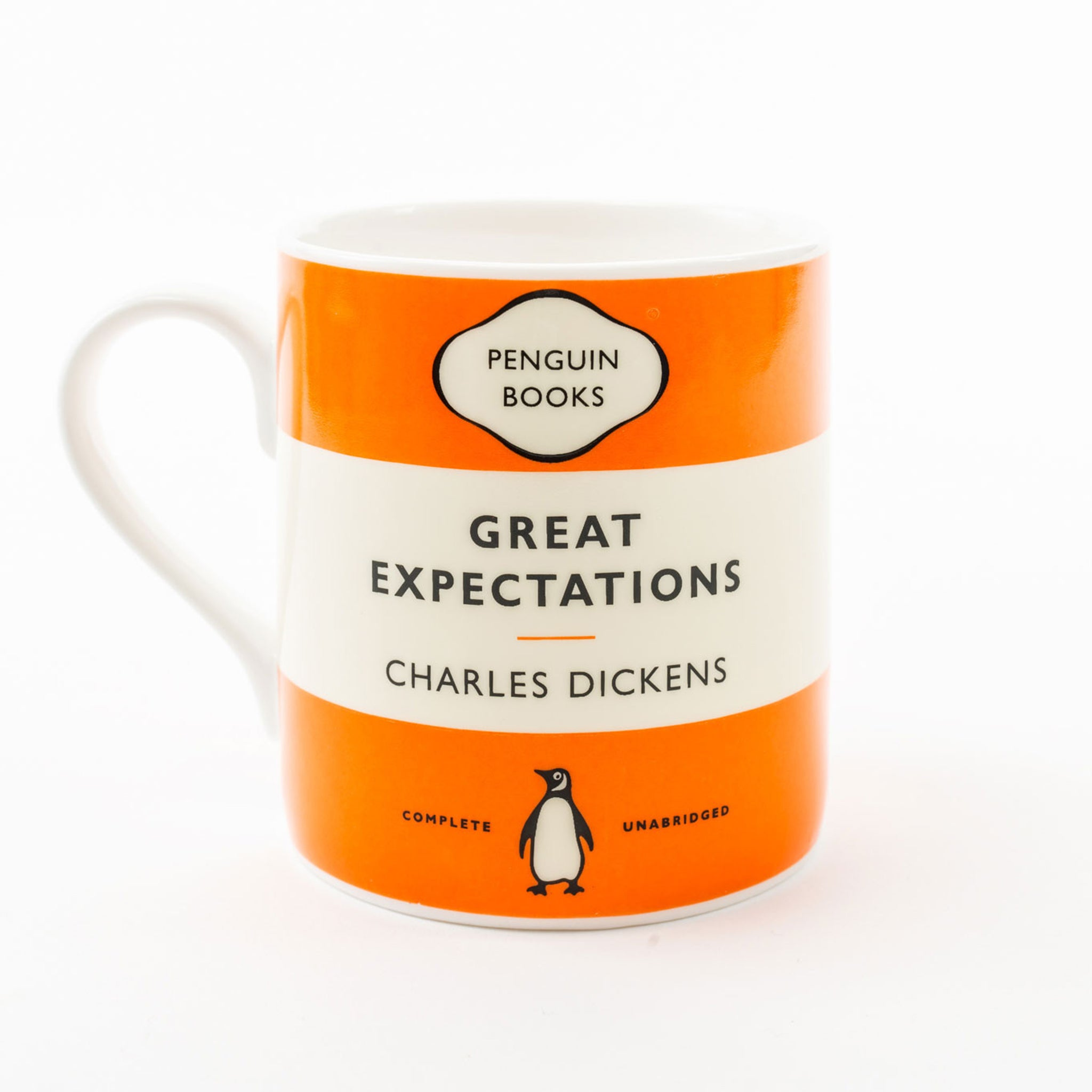 Penguin Book Cover Coffee Mugs : Great expectations penguin mug shop