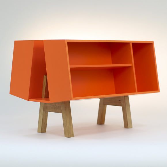 Isokon Penguin Donkey Mark 2: Orange