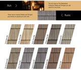 Vinyl Siding Foundry COLOR SAMPLES for Split and Staggered Shake and Shingle