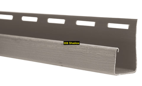 "Foundry Vinyl Siding Split Shake and Staggered Shake  1"" J-Channel"