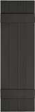 "Mid-America, Vinyl Shutters, Board-n-Batten, Lengths 55""- 75"", Width 14"""