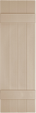 "Mid-America, Vinyl Shutters, Board-n-Batten, Lengths 80"", Width 14"""