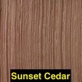 Exteria, Tando, Cedar Siding, RoughSawn Cedar Dual , Classic Colors and Weathered Colors