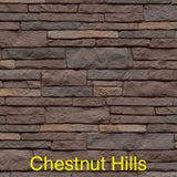 Tando Stacked Stone Vinyl Siding Chestnut Hills color